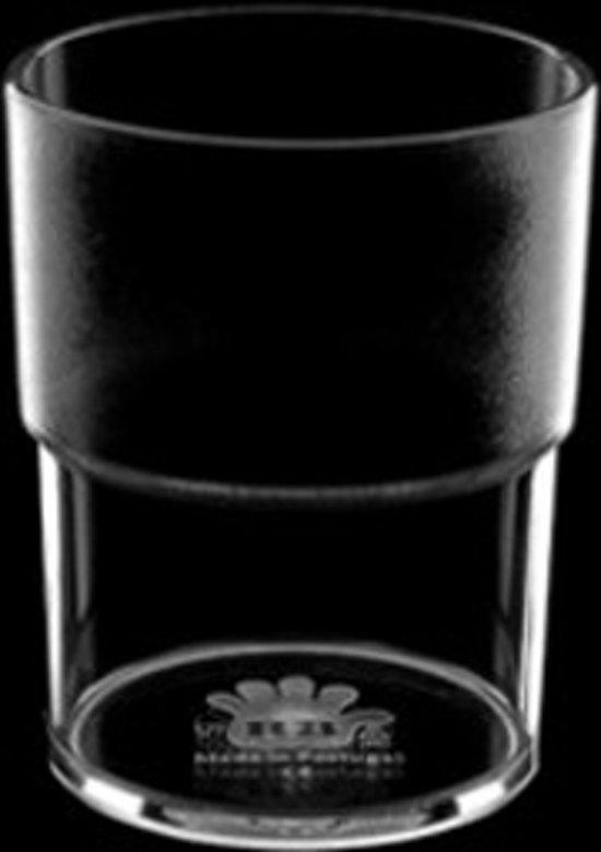 Polycarbonaat waterglas ECO - 18cl - 12 stuks