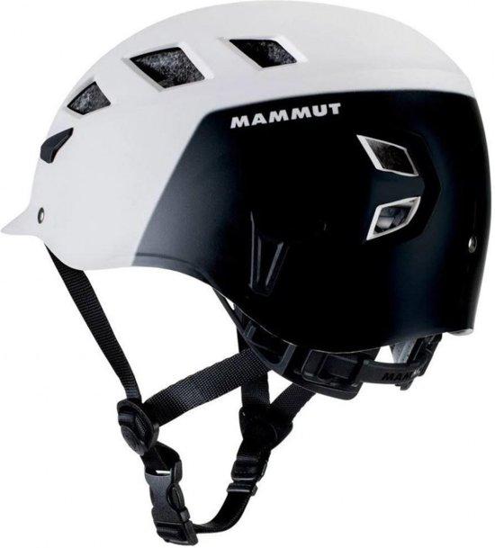 Mammut El Cap Robuuste klimhelm met een 2K-EPS-kern White-black M-L