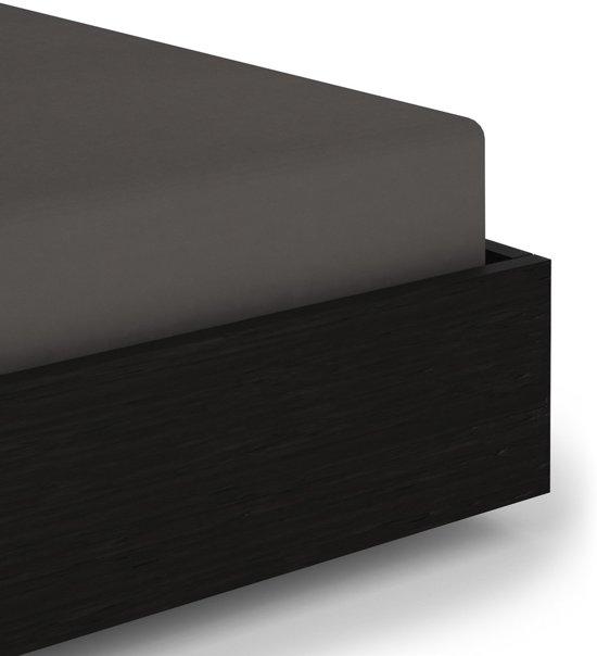 Premium Jersey Hoeslaken Antraciet | 90x200 | Heerlijk Zacht En Comfortabel | Hoogwaardige Kwaliteit