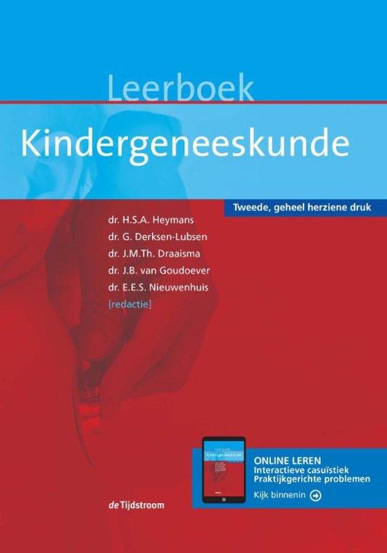 Boek cover Leerboek kindergeneeskunde / druk 2 van  (Hardcover)