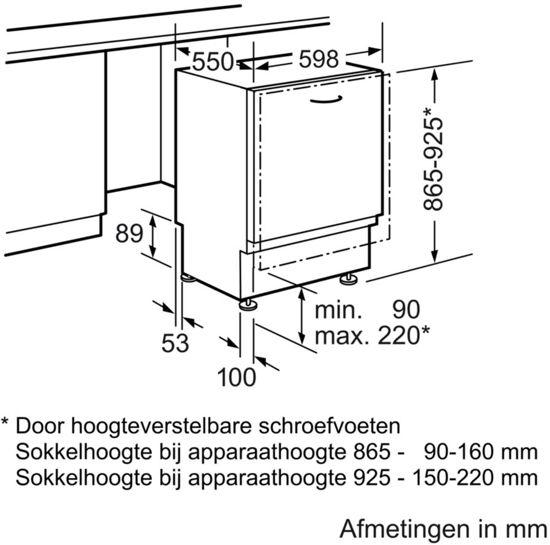 Bosch SMV46CX05N