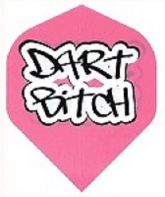 Dragon darts - Dart Bitch - Dart flights - Pink - darts flights