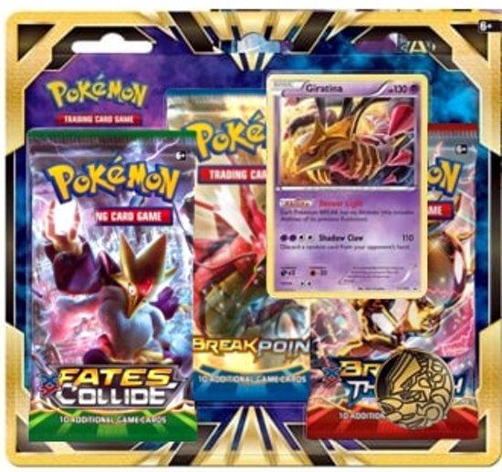 Afbeelding van het spel Pokémon: Giratina 3-pack Blister Pack