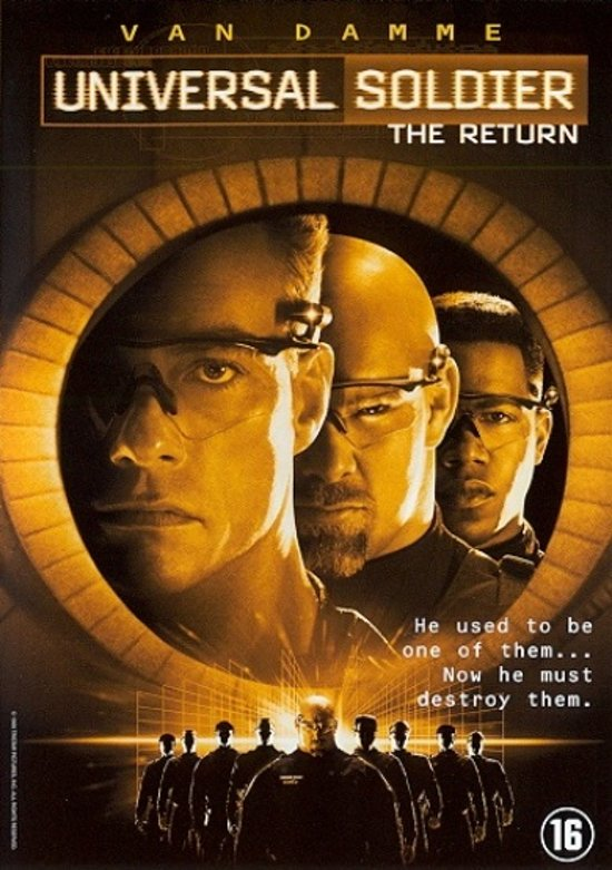 Cover van de film 'Universal Soldier - The Return'