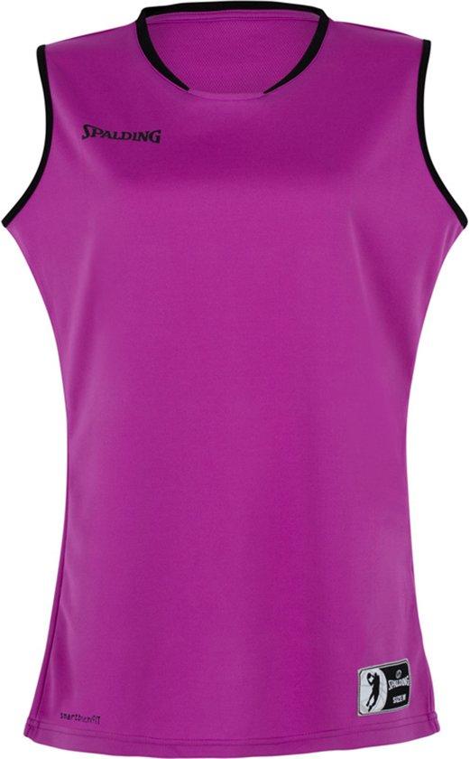 Spalding Move Tanktop dames Basketbalshirt - Maat L  - Vrouwen - paars/zwart