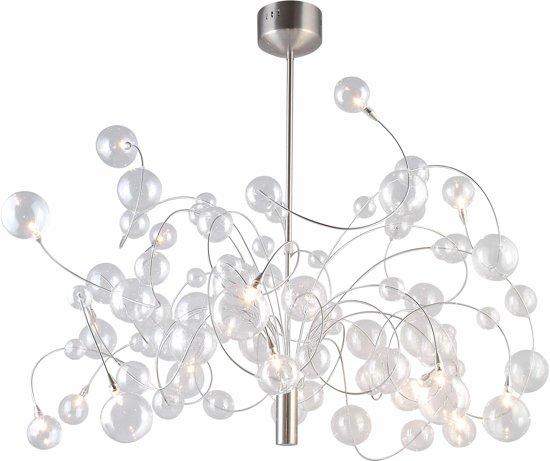 Verwonderlijk bol.com | Hanglamp met glazen bollen BY-18