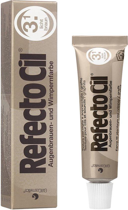 RefectoCil - Wimper & Wenkbrauw Verf - 3.1 Licht Bruin - 15 ml