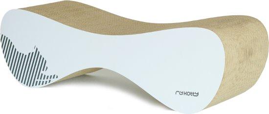 MyKotty VIGO Krabpaal - Wit - 71 x 21 cm