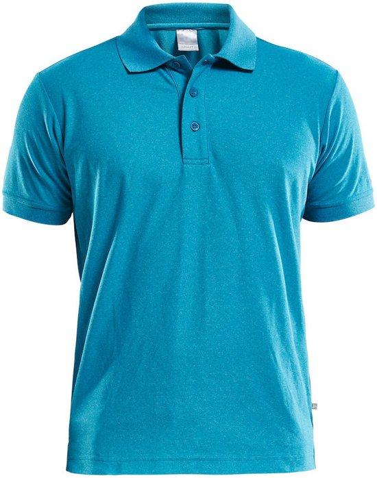 Craft Polo Shirt Pique Classic Men Blauw maat XL