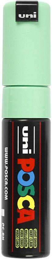Posca Marker, lijndikte: 8 mm,  PC-8K , light green, breed, 1stuk
