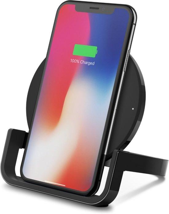 Belkin Qi wireless charger met standaard - 10W - Zwart