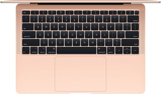 "Apple MacBook Air 13,3"" (2019) MVFN2N/A Goud"