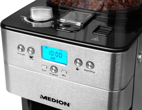 MEDION® Koffiezetapparaat voor bonen MD 16893