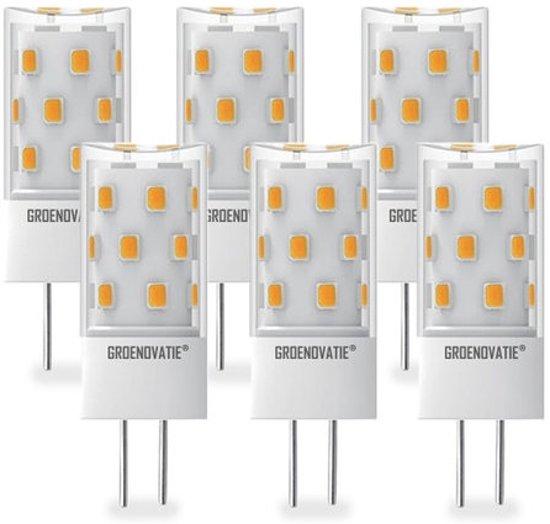 Groenovatie LED Lamp GY6.35 Fitting - 5W - 48x18 mm - Dimbaar - 6-Pack - Warm Wit