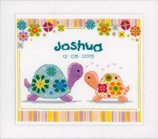 borduurpakket PN0147415 schildpadjes, geboorte