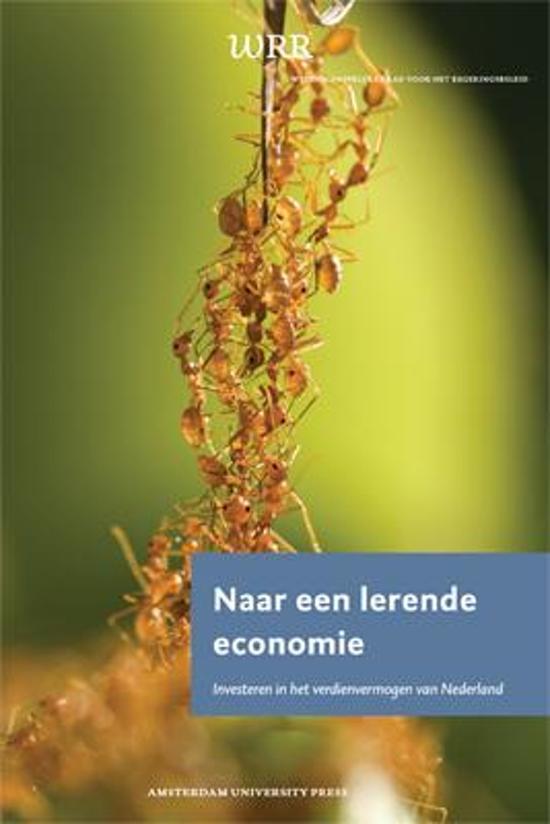 WRR Rapporten 90 - Naar een lerende economie