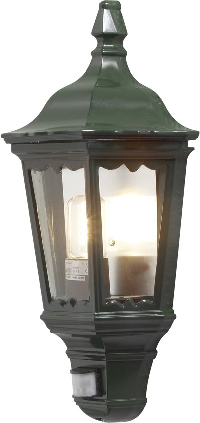 Konstsmide Firenze - Wandlamp flush 49.5cm - 230V - E27 bwm - groen