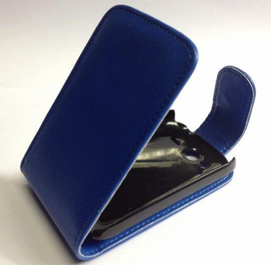 Faux hoesje HTC Wildfire S Blauw