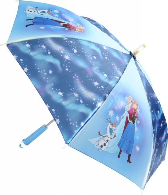 bol.com | Small Foot Frozen Paraplu Met Led Lamp Meisjes Blauw 86 Cm