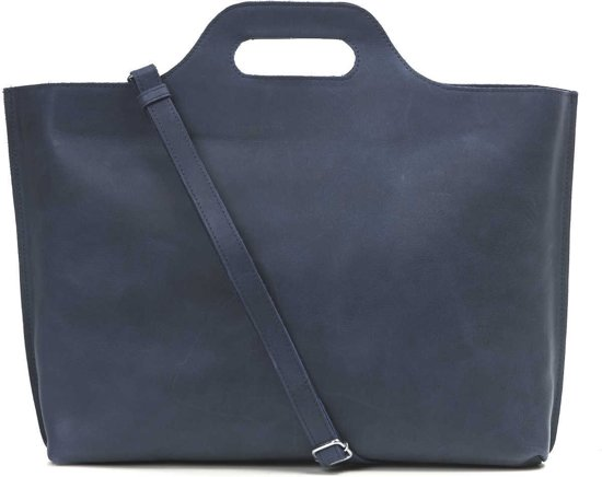MYOMY My Carry Bag Go Bizz Dames Aktetas - hunter blue