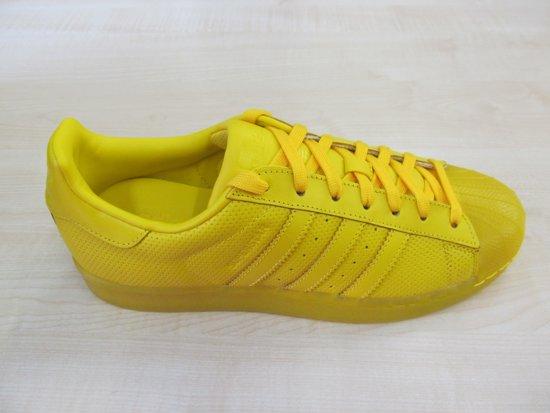 Adicolor Geel Maat Superstar S80328 Adidas 3 43 1 RqwOF54Zx
