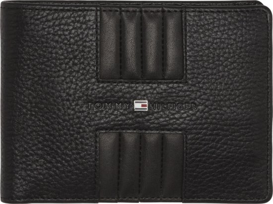 6c3f60d1a08 Tommy Hilfiger - Heritage - extra CC and coin heren portemonnee - black