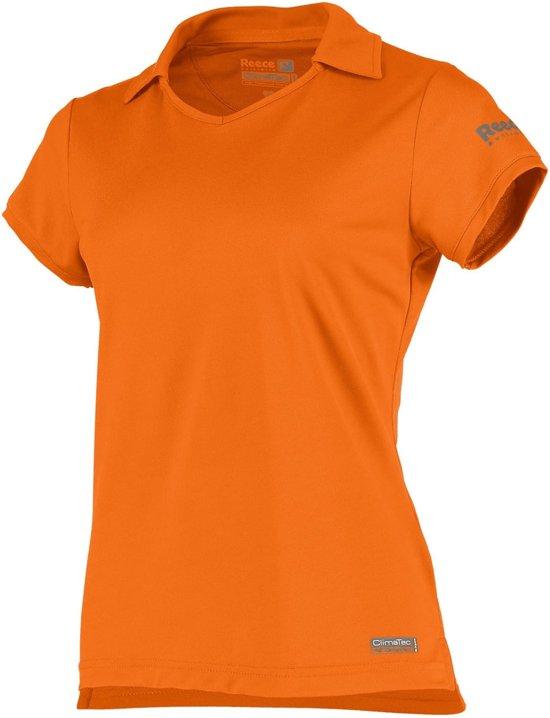 Reece Hockey polo Isa - Hockeyshirt - Kinderen - Maat 152 - Oranje