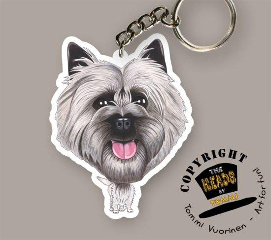 Sleutelhanger Hond Cairn Terrier