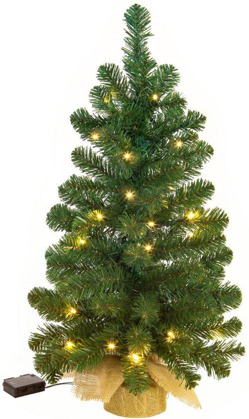 Kerstboom Met Verlichting.Excellent Trees Led Jarbo Green Kunstkerstboom 60 Cm Luxe Uitvoering 35 Lampjes