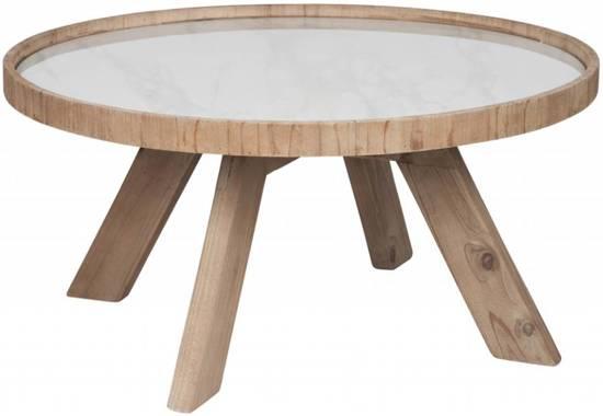 Retro Tafel Rond : Bol.com duverger retro salontafel rond Ø 79 cm hout