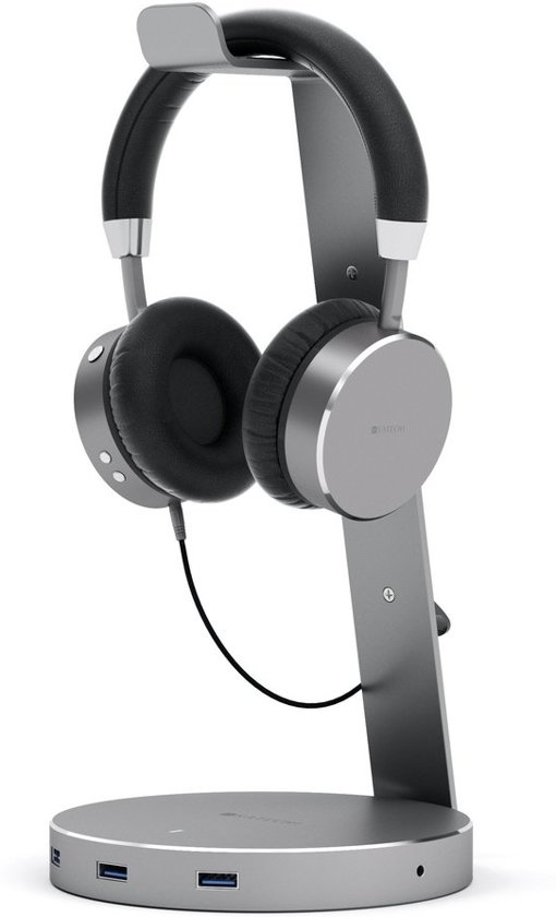 Satechi Aluminium Headphone Stand - Space Grey