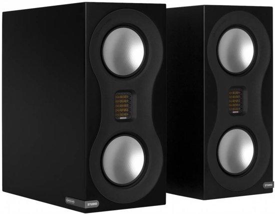 Monitor Audio Studio - Boekenplank Luidspreker - Zwart