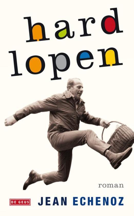Cover van het boek 'Hardlopen' van Jean Echenoz