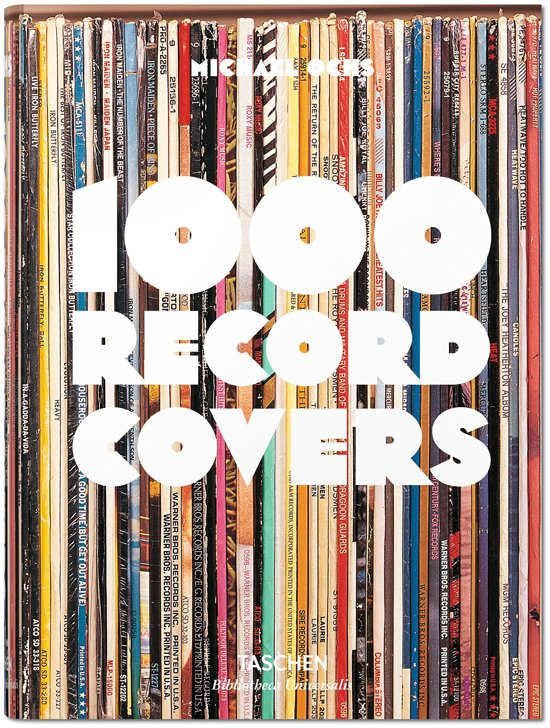 Boek cover 1000 Record covers van Michael Ochs (Hardcover)