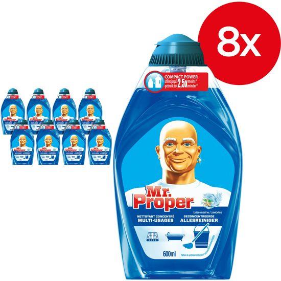 New bol.com   Mr. Proper Zeebries - Voordeelverpakking 8x600ml &IR42