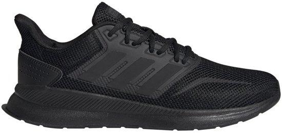 adidas Heren Zwarte Runfalcon - Maat 47 1/3