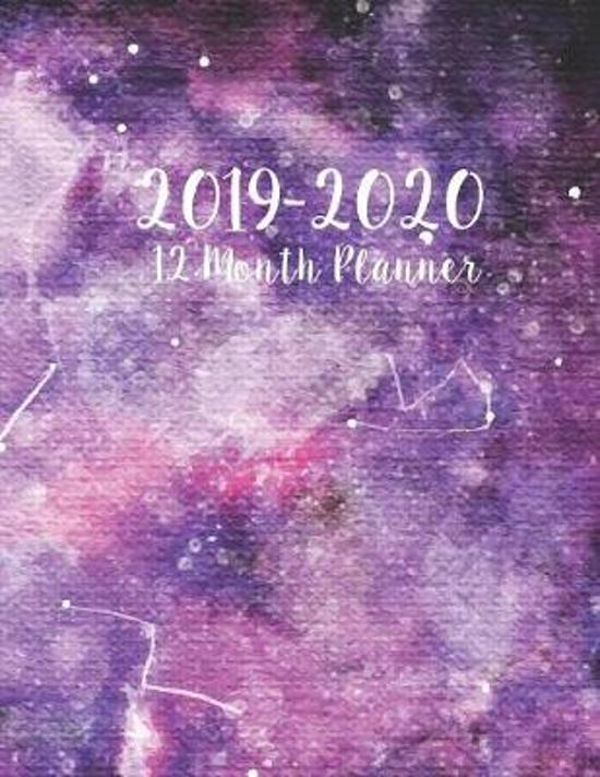2019-2020 12 Month Planner: 2019-2020 12-Month Planner: July 1, 2019 to June 30, 2020: Weekly & Monthly View Planner, Organizer & Diary: Celestial