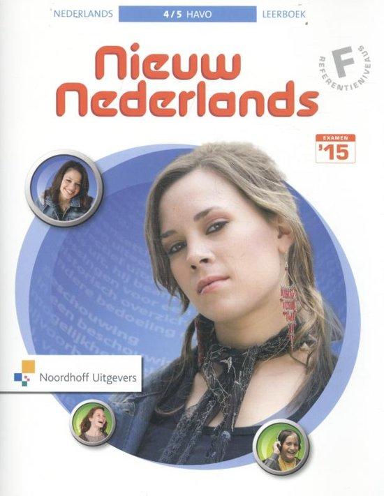 Nieuw nederlands 5e editie 4/5h - Frank, H.