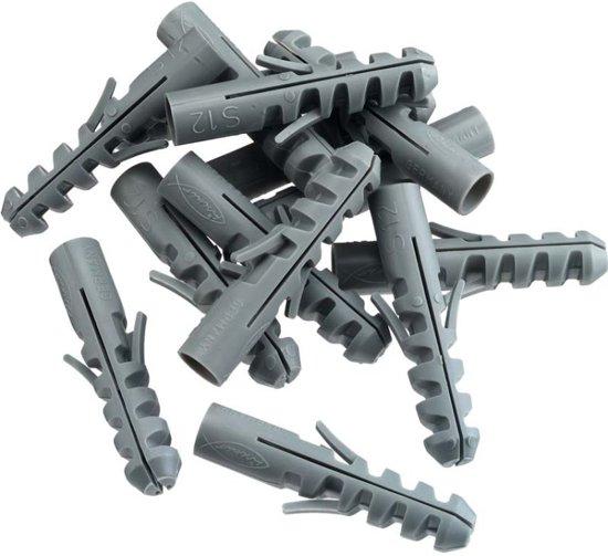 Pluggen 6 mm x 30 mm Nylon / 100 Stuks
