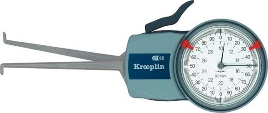 Opnemer met meetklok voor binnenmeting Intertest 20-40mm Kröplin
