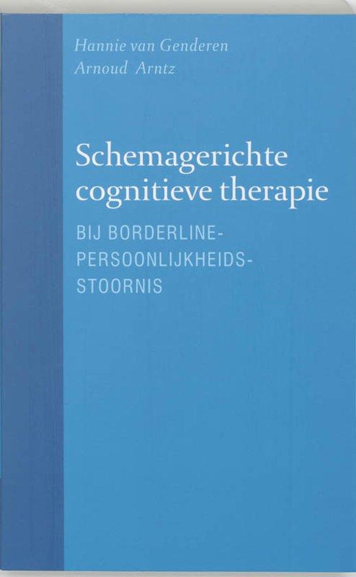 Cover van het boek 'Schemagerichte cognitieve therapie bij borderline-persoonlijkheidsstoornis / druk 1'