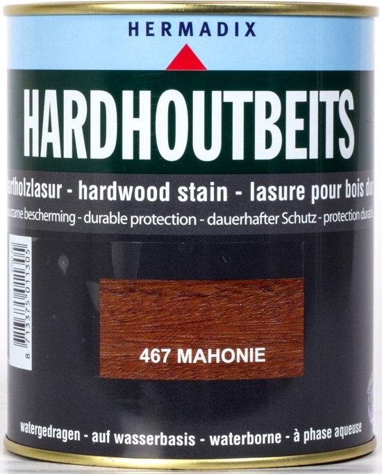 Hermadix Hardhout Beits - 0,75 liter - 467 Mahonie