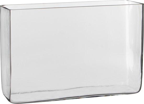Mica Decorations - Accubak / Vaas Britt – H20cm - Transparant glas