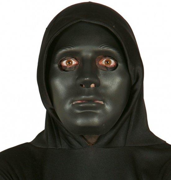 Halloween Masker.Bol Com Halloween Zwart Effen Halloween Masker Merkloos