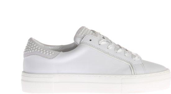 35b5c4fcbfa bol.com | Witte HIP D1234 Sneakers Met Parels Op Hiel