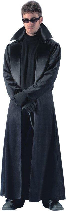 Lange Zwarte Winterjas Heren.Bol Com Lange Zwarte Jas Voor Heren Verkleedkleding Xl