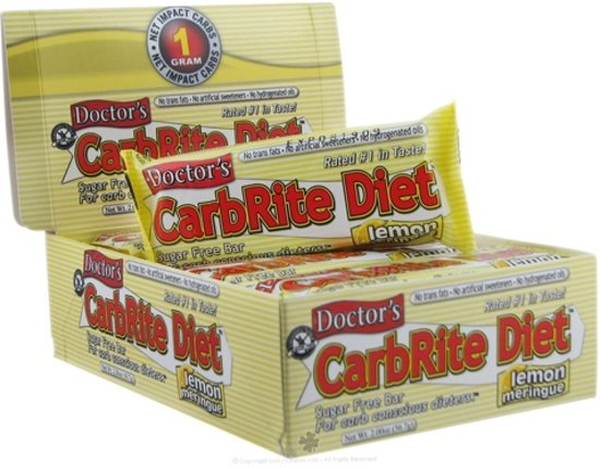 Low Carb Carbrite Diet Bar 12repen Banana Nut
