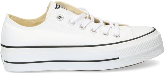 f6cd219911a Converse Dames Sneakers Chuck Taylor Allstar Lift - Wit - Maat 35