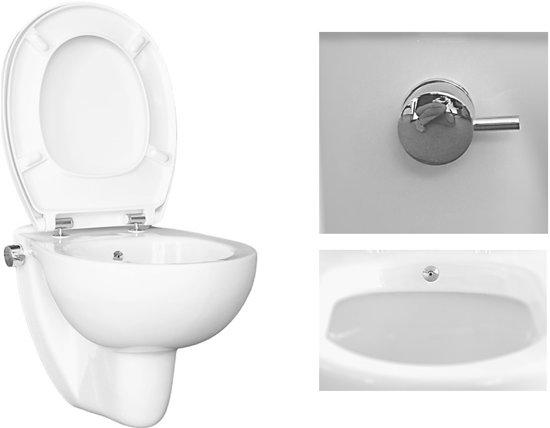 Hangend Toilet Afmetingen : Bol one hy hangend toilet met bidet