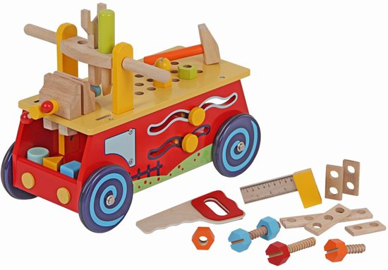 Playwood - Loopauto werkbank